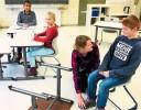 Kinder sitzen nicht mehr statisch (SchwarzwälderBote v. 31.01.18) | Aktuelles | SBBZ Seeäckerschule Calw-Stammheim