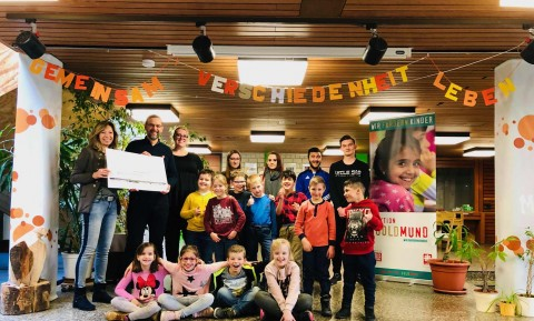 Spende an die Aktion Goldmund (18.03.19) | Aktuelles | SBBZ Seeäckerschule Calw-Stammheim