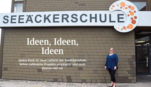 Ideen, Ideen, Ideen (SchwarzwälderBote v. 22.02.19) | Aktuelles | SBBZ Seeäckerschule Calw-Stammheim